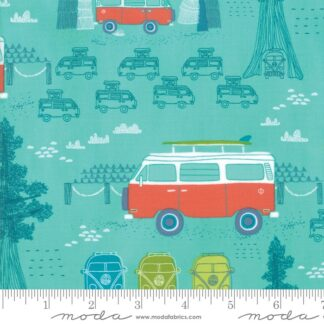 Pacific Wanderings Fabric
