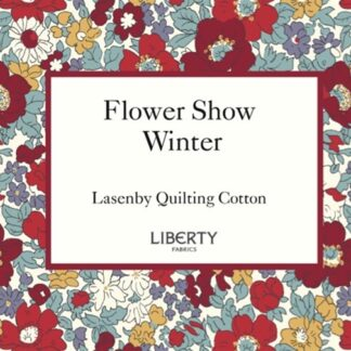 Liberty's Flower Show ~ Winter Fabric