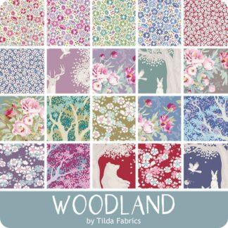 Tilda Woodland Fat 1/4