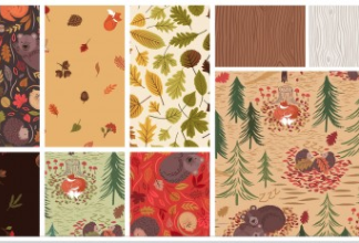A Winter Nap Fabric - Coming soon