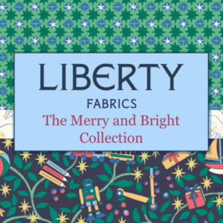 Liberty's Merry & Bright Fabric & FQ - Coming Soon