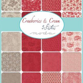 Cranberries & Cream Fabric & FQs