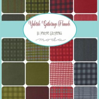 Yuletide Gathering Flannels Fabric & FQ - Coming Soon