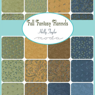 Fall Fantasy Flannel Fabric - Coming September