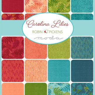 Caralina Lilies Fabric - Coming December 21